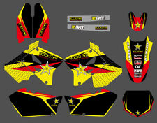 Graphics Background For Suzuki RM125 RM250 01 02 03 04 05 06 07 2008 09 10 11 12