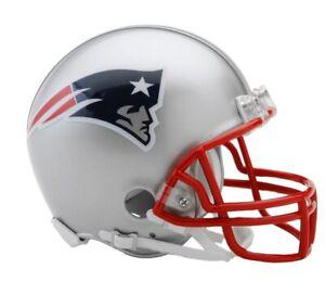 NFL New England Patriots Mini Helmet VSR4 Riddell Football Boxed Footballhelm