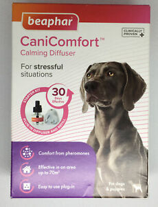 Beaphar CaniComfort Diffuser Plug + Refill- For Calming Dogs & Puppies- 06/2021