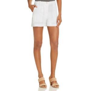 Theory Womens Organic Textured Casual Cargo Shorts BHFO 5418