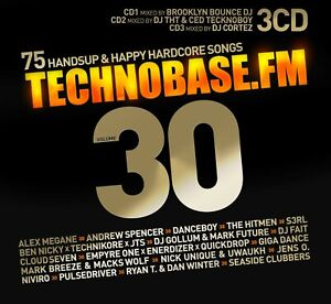 CD TechnoBase.FM Vol.30 von Various Artists 3CDs