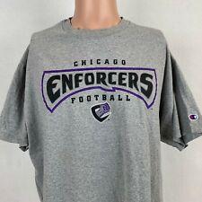 Champion Chicago Enforcers T Shirt Vintage XFL Football Vince McMahon Size XL