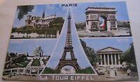 France Paris La Tour Eiffel Multi-view 8465 Ektacap - posted 1969