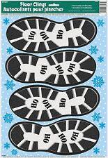 Noël Santa boot imprimer autocollants plancher