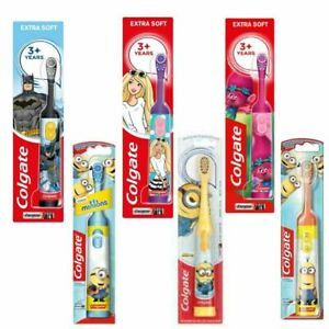 Colgate Battery Powered Kids Electric Toothbrush Tooth Brush Childrens 3+