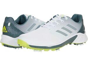Adidas ZG21  Golf Shoe - Pick Your Size - White/Grey/Yellow