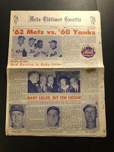 1967 NEW YORK METS Oldtimer Gazette 1st EVER Stengel GIL HODGES Throneberry 1962