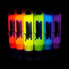 Glominex Glow in the Dark Paint 6 Pack of 1oz Assorted Tubes