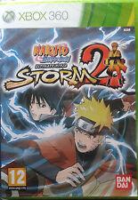 Pal version Microsoft Xbox 360 Naruto Shippuden Ultimate Ninja Storm 2