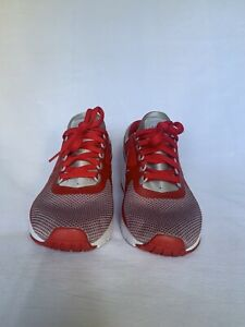 Nike Air Max Zero Essential Wolf Grey Red 881224-003 Youth Size 7 Women's 8.5