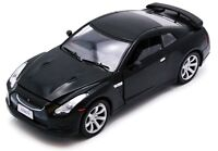 MOTOR MAX 73384R RED 73384K BLACK NISSAN GT-R R35 diecast model cars 2008 1:24th