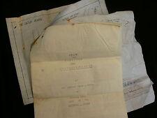 Tooting Bec Golf Club 1908-31 Original Plans & Documents For Club House Site