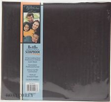 Tapestry Gibson 8x8 Black Scrapbook 10 Sheets Protectors + Disney Page Kit