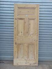 Reclaimed Georgian Pine Internal Wooden Door 181