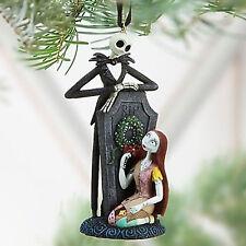 Disney Jack Skellington & Sally Holiday Tree Ornament