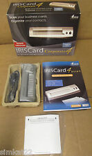 IRISCard Corporate 4 Sheet Fed Portable Card Scanner for Windows and Macintosh