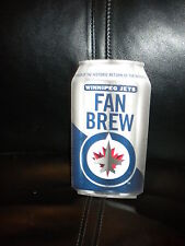 NHL WINNIPEG JETS SCHEDULES AND COMMEMORATIVE JETS BUDWEISER COLLECTIBLE