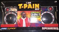 I Am T-Pain Mic Portable 2-In-1 Speakers Pro Tunes New Sealed