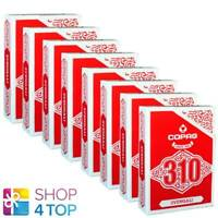 8 DECKS COPAG 310 SVENGALI POKER PLAYING KARTEN PAPER STANDARD INDEX ROT NEU