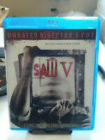 Saw V (Blu-ray Disc, 2009, Unrated Director's Cut)