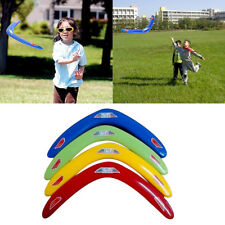 "1pc PP V Shaped Boomerang Returning Genuine ""throwback"" Kids Child Toy Colorful"