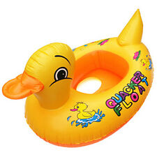 1x Baby Inflatable Float Boat Lifebuoy Lap Duck Ring Swim Seat in Swimming Pool