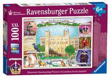 HISTORIC ROYAL PALACES THE TOWER OF LONDON XXL 100 PIECE RAVENSBURGER JIGSAW