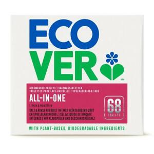 Ecover All in One Dishwasher Tablets - 68 Tablets