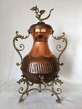 Decoración samovar de latón de cobre Antik para 19. jhd 40 cm