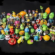 60ps/set New Plants vs. Zombies 2 dolls Anime action figure pvz PVC Kids Gift