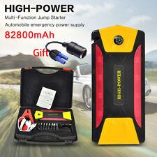 82800mAh Car Jump Starter Emergency Charger Booster Power Bank Battery Compass