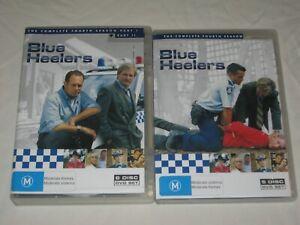 Blue Heelers - The Complete Season 4 - Part 1 & 2 - 11 Disc Set - PAL - DVD