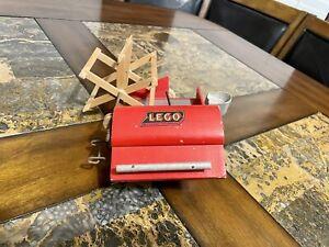 LEGO 1950 WOODEN AUTHENTIC HARVESTER BILLUND DENMARK SDCC UBER RARE!