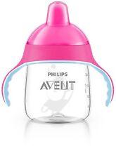 Philips Avent SCF753/17 Premium Spout Cup (9 oz, Pink)