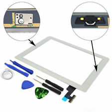 New Touch Screen Glass Digitizer +Home Button for iPad 2 A1395 A1396 A1397 White