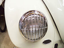 Headlight Grilles for VW Beetle Porsche 356 Bus Splitscreen STAINLESS AAC001