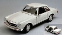 Model Car Scale 1:24 Welly Mercedes 230 Sl W113 diecast vehicles road