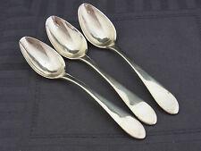 3 Teelöffel Silber Schweden 1815 IFB