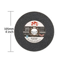 """4"""" 105mm Thin Resin Cutting Disc Cut Off Stainless Steel Metal for Angle Grinder"""