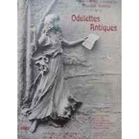 DUBOIS Théodore Odelettes Antiques No 1 Chanson de Pâtre Chant Piano 1907 partit