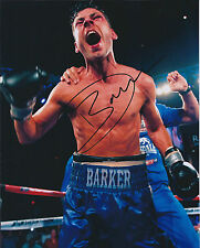 Dazzling Darren BARKER Signed 10x8 Autograph Photo AFTAL COA Boxer Authentic