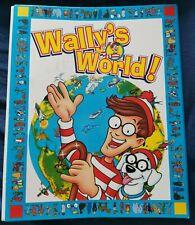 Where's Wally Wally's World 1997 Folder free p&p