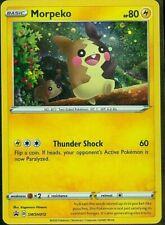 Morpeko HOLO Black Star Collection - RARE SWSH012 Pokemon Card NM/MT