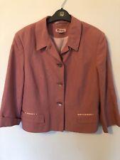 Monsoon short Jacket . Size 16.  pink