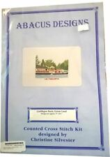 Abacus Designs Linlithgow Basin, Union Canal Cross Stitch Kit