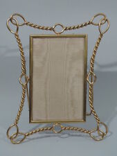 Antique Frame  Picture Photo  Nautical   English Brass