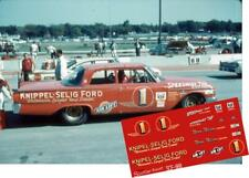 CD_868 #1 Norm Nelson   1961 Ford  1:64 scale decals