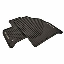 2018-19 Chevy Traverse Front All-weather Floor Mats in Jet Black OEM GM 84162515