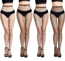 Womens Sexy Lingerie Fishnet Lace Mesh High Thigh Stockings Pantyhose Long Socks