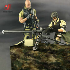 1/6 Browning M2 MACHINE GUN Model Assembly Heavy machine gun For Action Figure